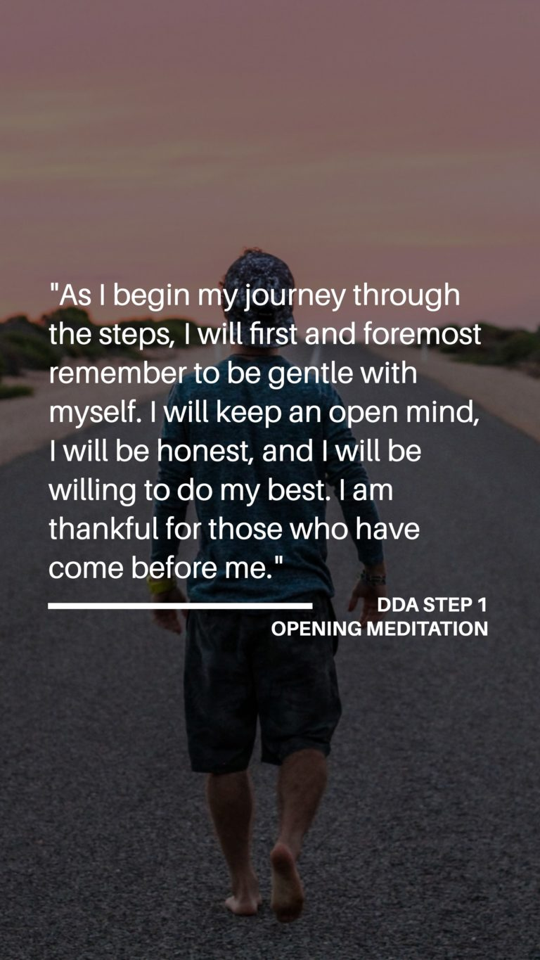 Dual Diagnosis Anonymous - Step 1 - Opening Meditation (Part One)