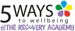 5 Ways Logo - 5 Ways to Wellbeing @ The Recovery College