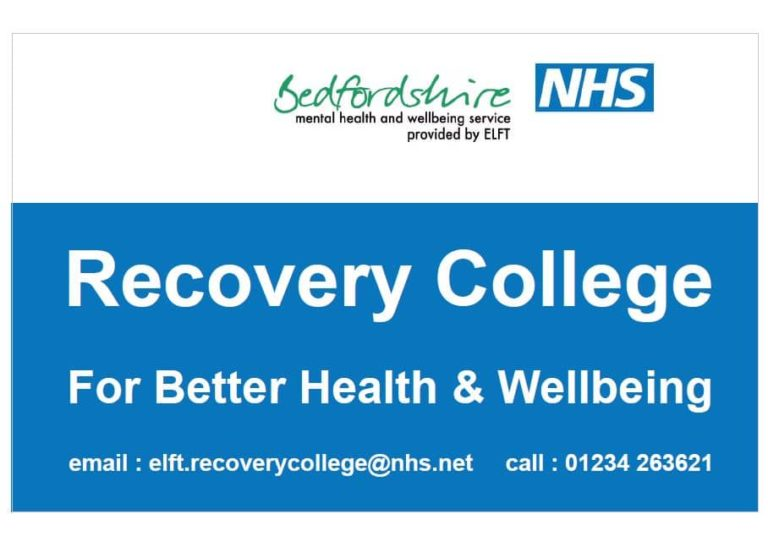 Bedfordshire Recovery College Logo
