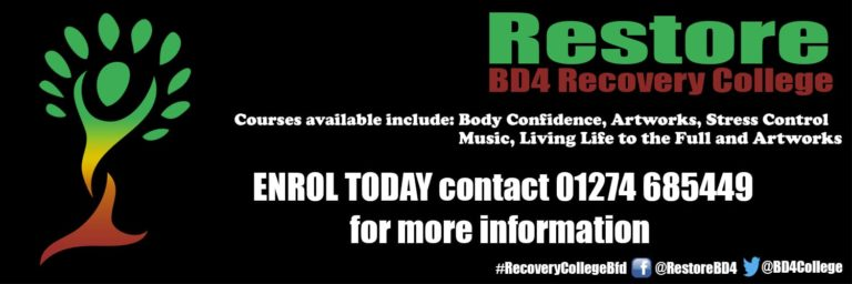 Restore Recovery College Logo/Banner