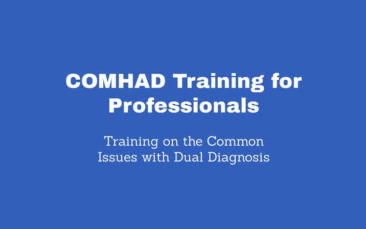 COMHAD Training for Professionals